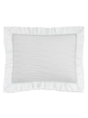 Katella Embroidered Cotton Pillow Sham