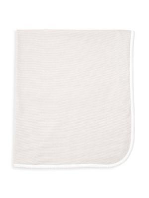 Grey Stripe Receiving Blanket