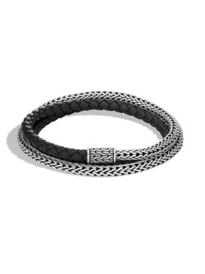 Classic Chain Silver Triple Wrap Extra Small Bracelet