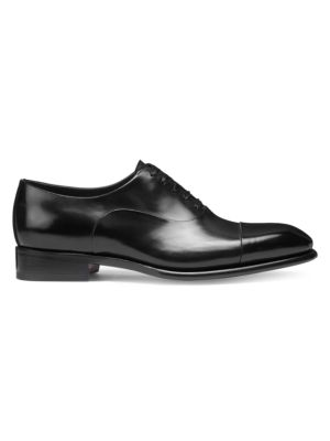 Lace-Up Leather Dress Shoes