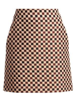 Chess Check Mini Skirt