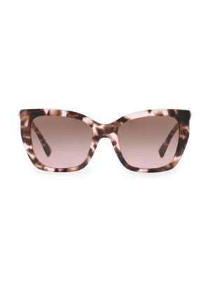 53MM Rockstud Square Cat Eye Sunglasses