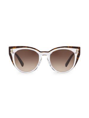 50MM Round Shadowed Sunglasses