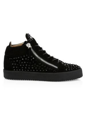 Studded Mid-Top Sneakers