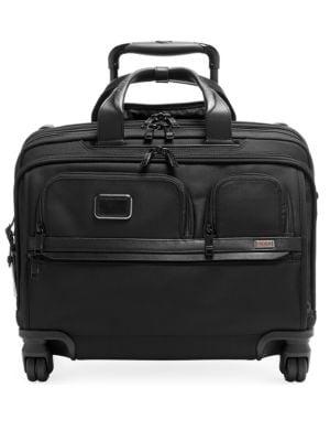 Alpha DLX 4-Wheel Laptop Briefcase