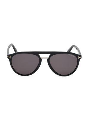 Burton 59MM Rounded Aviator Sunglasses