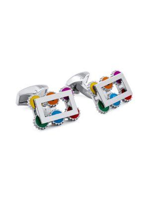 Roku Gear Rotating Cufflinks