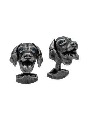 Mechanical Animals Dog Cufflinks