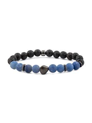 Nugget Black Rhodium Bracelet