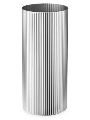 Medium Bernadotte Stainless Steel Vase