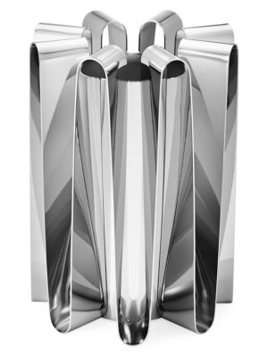 Lage Frequency Stainless Steel Vase