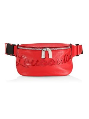 Marie Jane Logo Leather Belt Bag