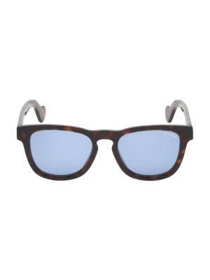 54MM Square Havana Sunglasses