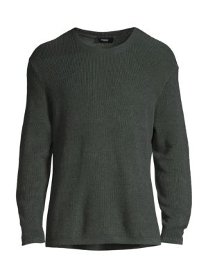 Davies Standard-Fit Linen-Blend Sweater