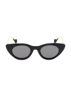 45MM Cat Eye Sunglasses