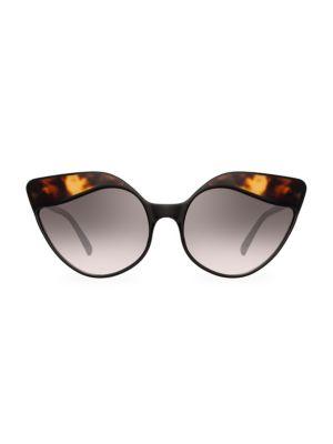 871 C3 Tortoise Shell Cat Eye Sunglasses