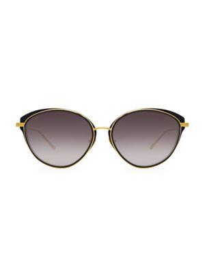 912 C1 Cat Eye Sunglasses