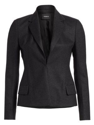 Dayla Wool Flannel Jacket