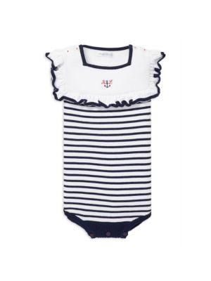 Baby Girl's Nautical Bodysuit