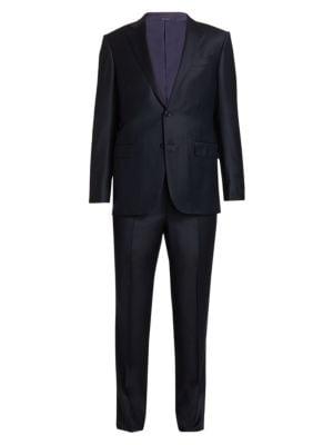Trofeo Pindot Wool Suit