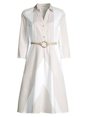 Candence Belted Midi Dress