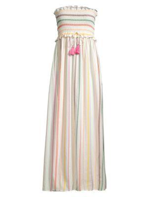 PILYQ | Stephanie Multistripe Maxi Dress | Goxip