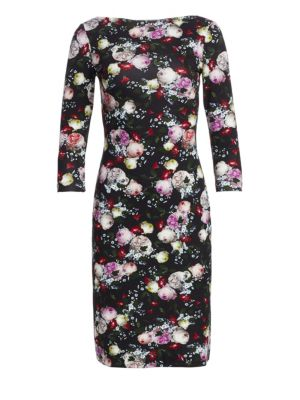 Reese Floral Sheath Dress