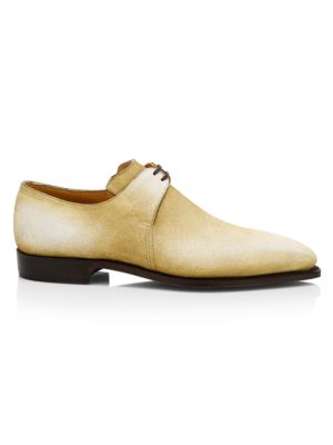 Arca Pullman Cappucchino Patina Suede Lace-Up Brogue Shoes