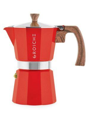 Milano Moka Three-Cup Stovetop Espresso Maker