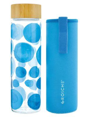 Venice 22.6 oz. Bubble Print Glass Bottle