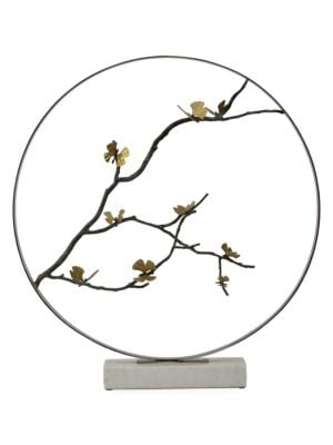 Special Editions Butterfly Ginkgo Moon Gate Sculpture