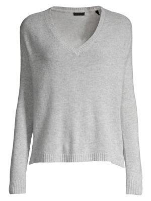 ATM ANTHONY THOMAS MELILLO   Cashmere V-Neck Sweater   Goxip