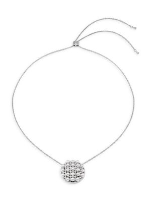 Allegra Faux-Pearl Stainless Steel Chain Necklace