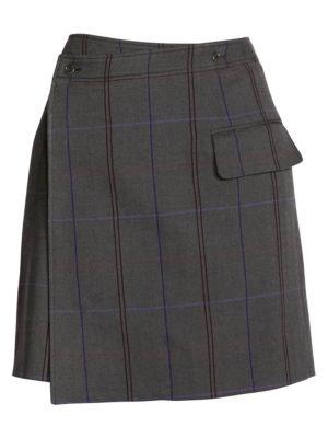 Itzelle Check Skirt