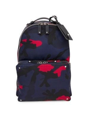 Valentino Garavani VLTN Camoflauge Backpack