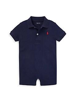 폴로 랄프로렌 남자 아기용 쇼트올 Polo Ralph Lauren Baby Boys Shortall