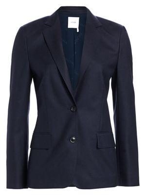 Superfine Wool Single Breasted Jacket