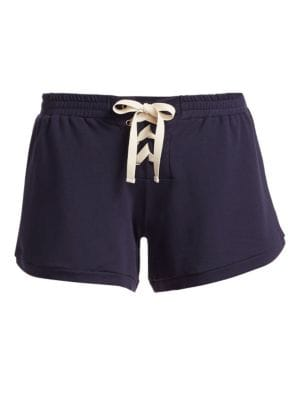 Mason Lace Up Shorts
