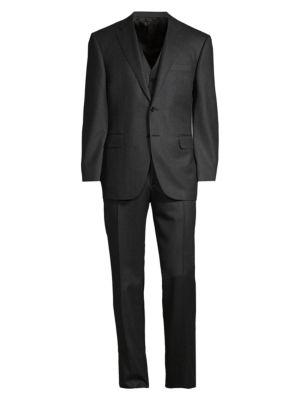 3-Piece Wool Suit