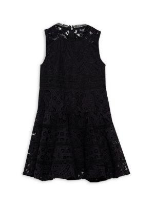 Girl's Elise Lace Dress