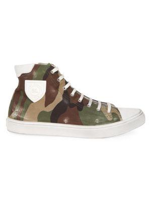 Bedford Camo High-Top Sneakers