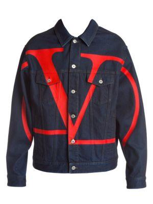 Large Logo Denim Jacket