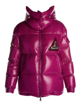 Wilson Heritage Logo Lacquer Puffer Jacket
