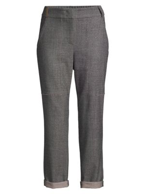 Carpenter Wool-Blend Pants