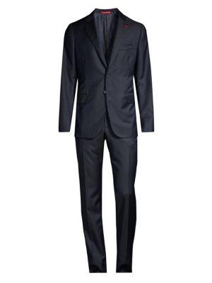 Abito Slim-Fit Wool Suit