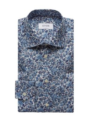 Contemporary-Fit Floral Dress Shirt