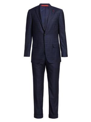 Aquaspider Wool Check Suit