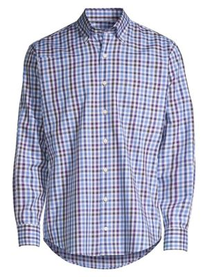 Crown Baker Island Regular-Fit Gingham Shirt