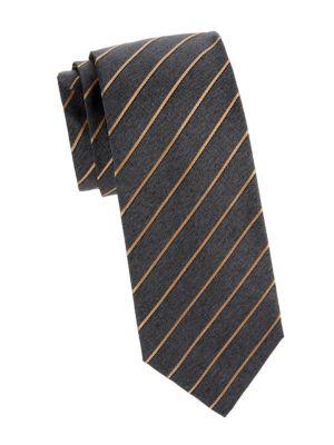 Retro Stripe Silk Tie