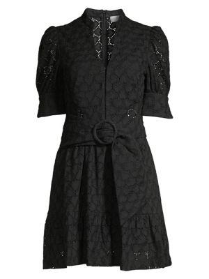 Valentina Eyelet Mini Dress